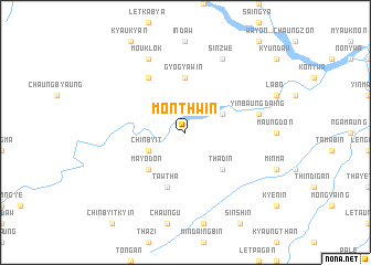 map of Mônthwin