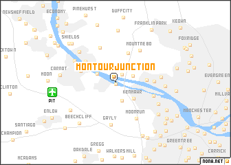 map of Montour Junction
