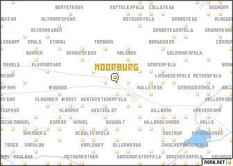 map of Moorburg
