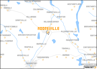 map of Mooreville
