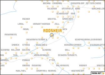 map of Moosheim
