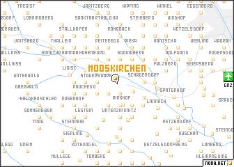 map of Mooskirchen