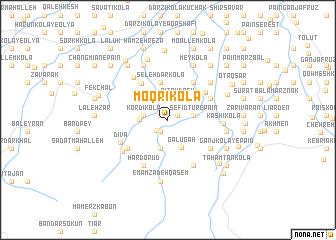 map of Moqrī Kolā
