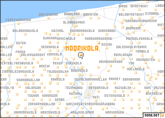 map of Moqrī Kolā