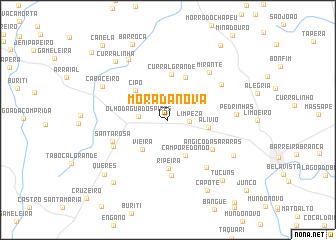 map of Morada Nova