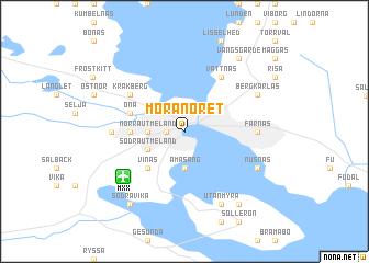 MoraNoret Sweden Map Nonanet - Sweden map mora