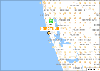 Moratuwa Sri Lanka map nonanet