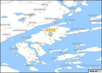 Mora Sweden Map Nonanet - Sweden map mora