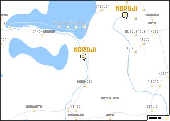 map of Mordji
