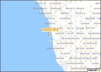 map of Moreiro