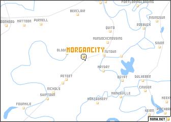 map of Morgan City
