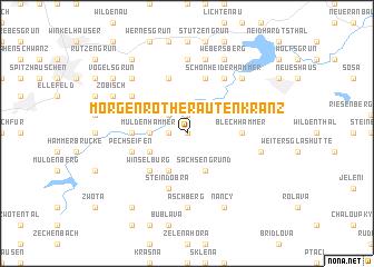 map of Morgenröthe-Rautenkranz