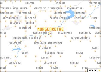 map of Morgenröthe