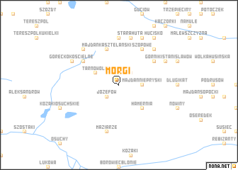 map of Morgi