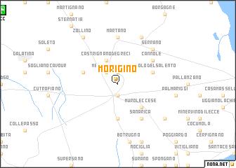 map of Morigino