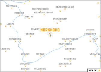 map of Morkhovo