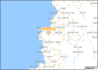 map of Morong