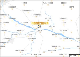 map of Morozovka
