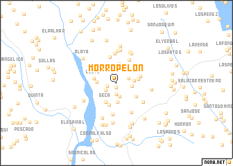 map of Morropelón