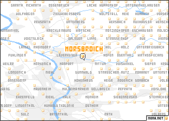 map of Morsbroich