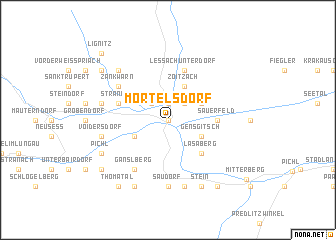 map of Mörtelsdorf