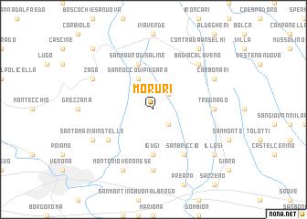 map of Moruri