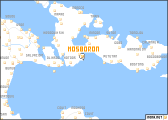map of Mosboron