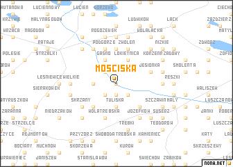 map of Mościska