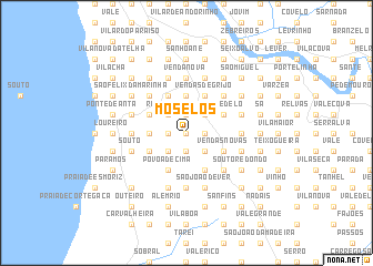 map of Moselos