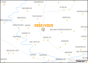map of Moseykovo
