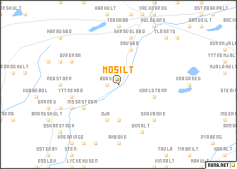 map of Mosilt