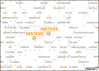 map of Mosteiro
