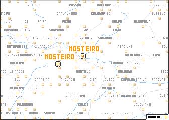 map of Mosteiro