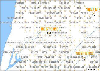 map of Mosteirô