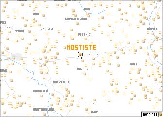 map of Mostište