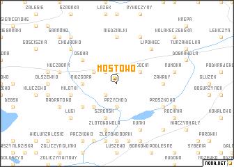 map of Mostowo