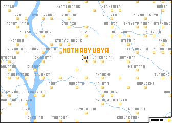 map of Mothabyubya