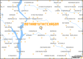 map of Mothabyu Thitchagon