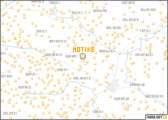 map of Motike