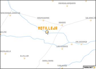 map of Motilleja