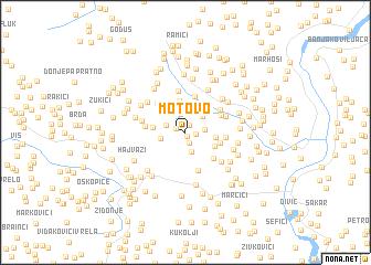 map of Motovo