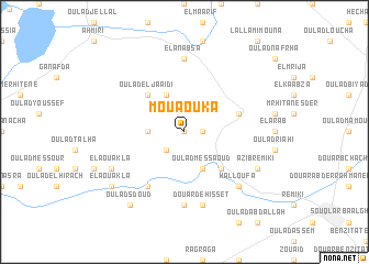 map of Mouaouka