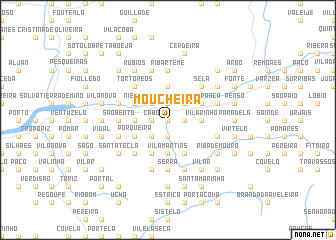 map of Moucheira