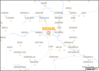 map of Moudal