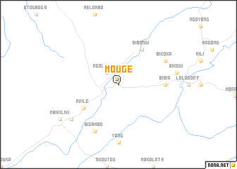 map of Mougé