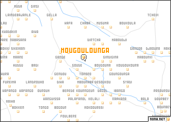 map of Mougoulounga