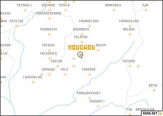 map of Mougwou