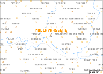 map of Moulay Hassene