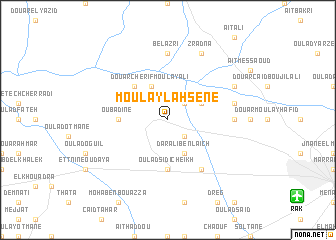 map of Moulay-Lahsene