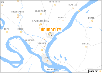 map of Mound City